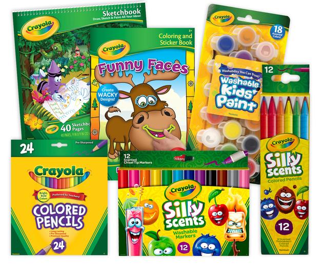Crayola Gigantic Coloring Pack