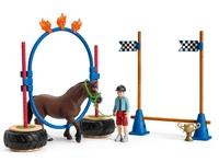 Schleich: Farm World - Pony Agility Race Playset