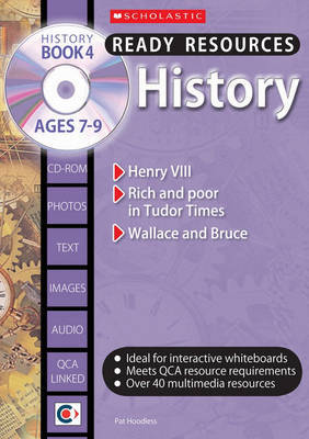 History; Book 4 Ages 7-9 by Pat Hoodless image