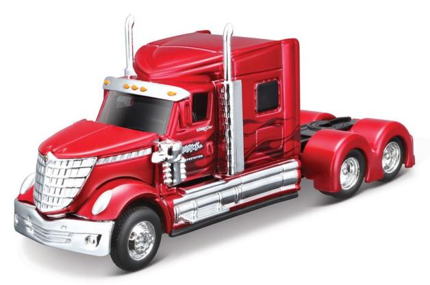 Maisto: 1:64 Die-Cast Vehicle - Design Rigs (Metallic Red)