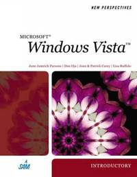 New Perspectives on Windows Vista by June Jamrich Parsons image