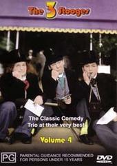 Three Stooges - Vol. 4 (Magna) on DVD