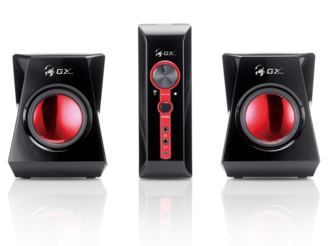 Genius GX SW-G2.1 1250 Gaming Speakers, 38W RMS for  image