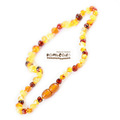 Bambeado Amber Necklace Baby Bud - Mixed