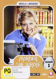 Murder, She Wrote - Season One on DVD