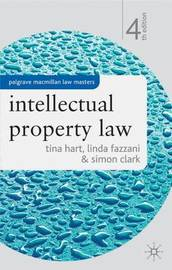 Intellectual Property Law by Tina Hart image