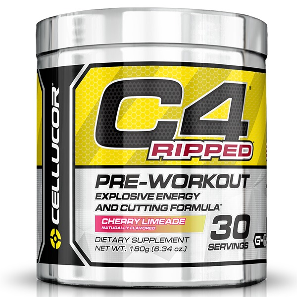 Cellucor C4 Ripped Pre-Workout - Cherry Limeade (30 Servings)
