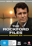 The Rockford Files: The Complete Season 6 (Remastered) on DVD