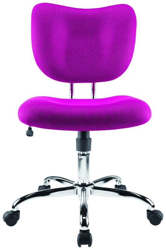 Brenton Studio Low Back Office Chair - Pink