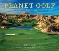 Planet Golf 2019 Wall Calendar by Darius Oliver