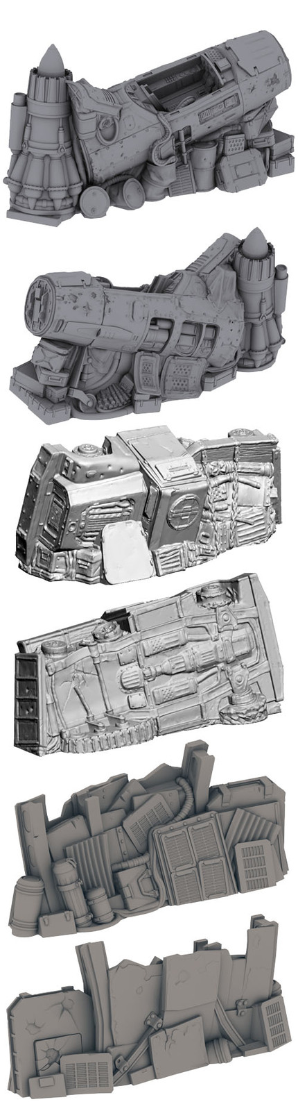 Secret Weapon Terrain: Scrap Yard - Junk Walls image