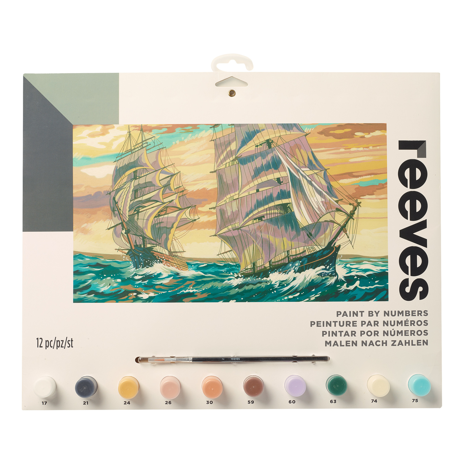 Reeves: Paint by Numbers - Ships (Large) image