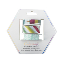 Ice Lolly Washi Tape & Twine