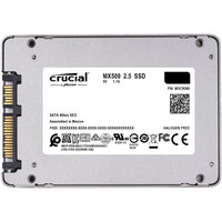 """Crucial MX500 500GB SATA 2.5"""" 7mm (with 9.5mm adapter) Internal SSD image"""