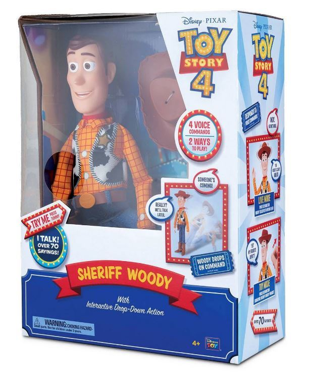 "Toy Story 4: Sheriff Woody - 16"" Talking Figure"