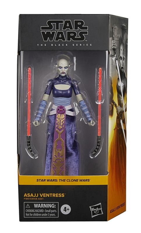 "Star Wars The Black Series: Asajj Ventress - 6"" Action Figure"