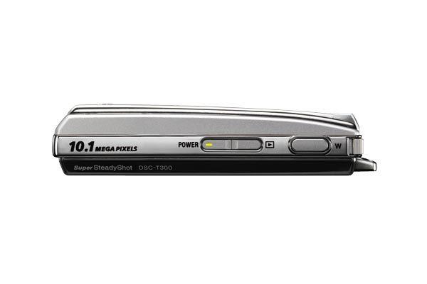 Sony DSCT300S 10.1MP Digital Camera - Silver image