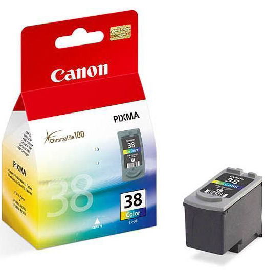 Canon Ink CL-38 Colour Cartridge (206 Pages) image