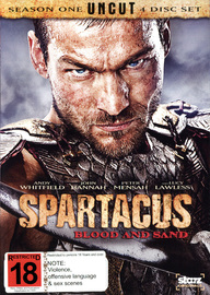 Spartacus: Blood and Sand - Complete Season 1: Uncut (4 Disc Set) on DVD