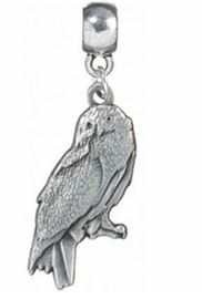 Harry Potter Charm - Hedwig the Owl (silver plated)