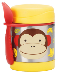 Skip Hop: Zoo Insulated Food Jar - Monkey