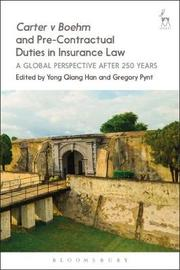 Carter v Boehm and Pre-Contractual Duties in Insurance Law image