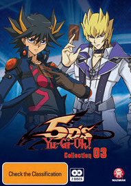 Yu-Gi-Oh! 5D's - Collection 3 on DVD