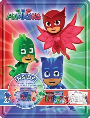 Pj Masks Collector's Tin by Parragon Books Ltd