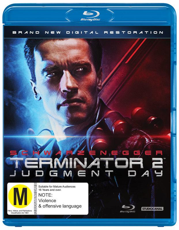 Terminator 2: Judgement Day on Blu-ray