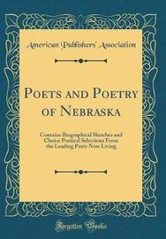 Poets and Poetry of Nebraska by American Publishers ' Association image