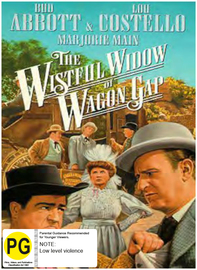 The Wistful Widow of Wagon Gap on DVD