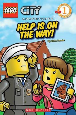 LEGO Help Is On The Way! (City Adventures Series #2) by Sonia Sander
