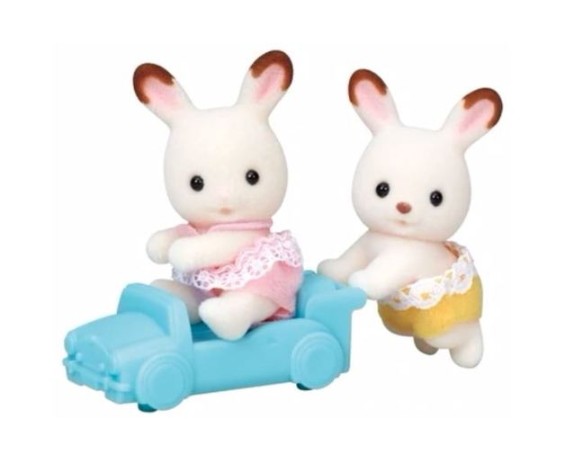 Sylvanian Families: Chocolate Rabbit Twins (5420)
