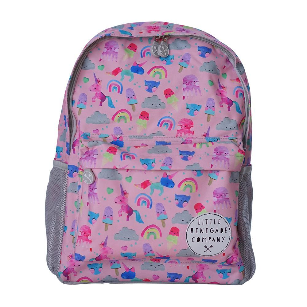 Little Renegade Company: Unicorn Friends Midi Backpack image