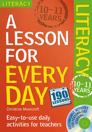 Literacy Ages 10-11 by Christine Moorcroft image