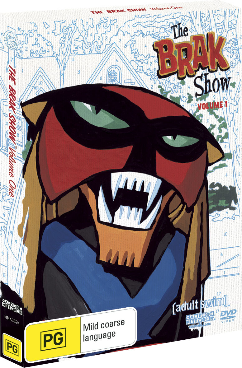 The Brak Show - Season 1 on DVD image