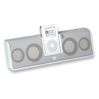 Logitech MM50 Ipod Speakers - White