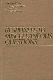 Responses to Miscellaneous Questions by Edmund Augustine image