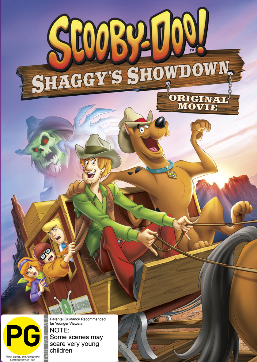 Scooby-Doo!: Shaggys Showdown on DVD image