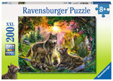Ravensburger: Wolf Family in the Sun - 200pc XL Puzzle