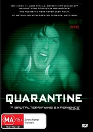 Quarantine on DVD