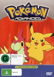 Pokemon - Advanced 6.9: Which Wurmple's Which? on DVD image