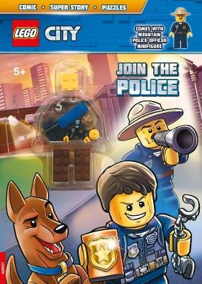 Lego - City - Activity Book with Mini Figure by Centum Books Ltd image