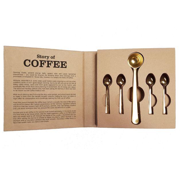 Coffee Spoon & Scoop Gift Set