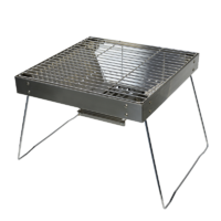 High Quality Stainless Steel Portable Charcoal BBQ image