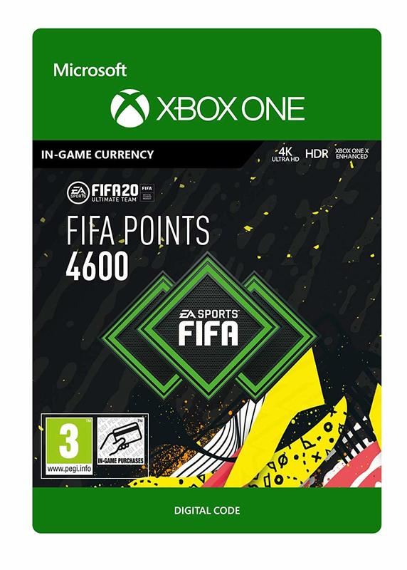 FIFA 20 Ultimate Team - 4600 FIFA Points for Xbox One (Digital Code) for Xbox One