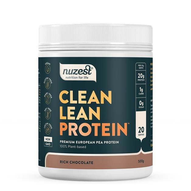 Clean Lean Plant Based Protein - Rich Chocolate (500g)