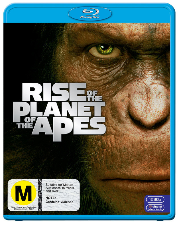 Rise of The Planet of The Apes on Blu-ray