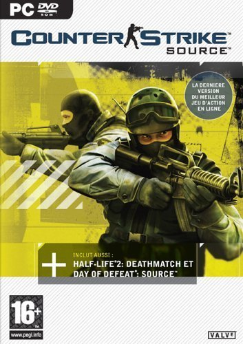 Counter-Strike: Source (DVD) for PC Games