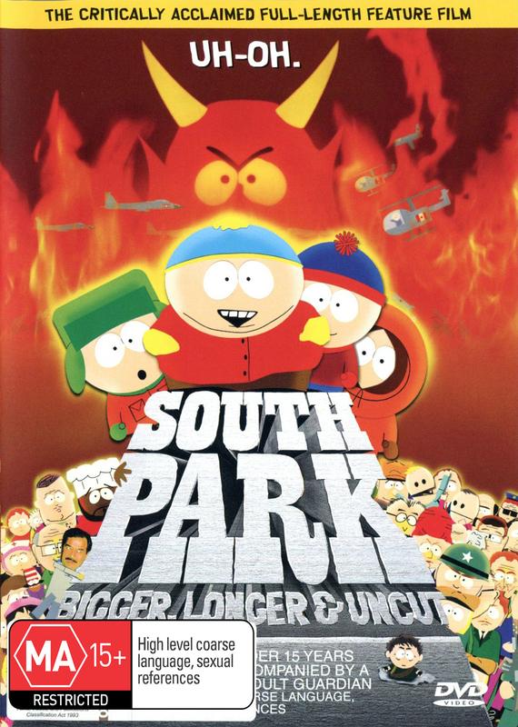 South Park: Bigger, Longer & Uncut on DVD